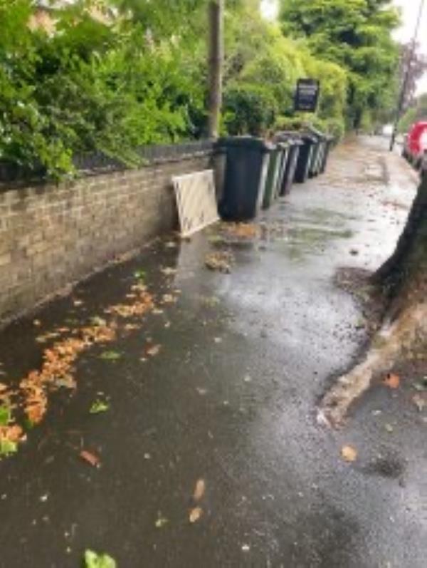 Please clear a piece of wood-78 Wickham Road, Honor Oak Park, SE4 1LX