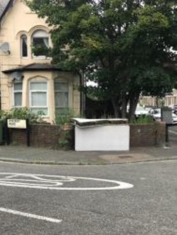 Please clear A Mattress. Reported via Fix My Street-Ryecroft Road