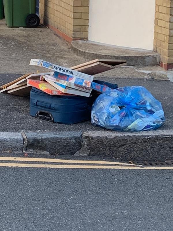 Dumped rubbish -63 North Street, London, E13 9HL