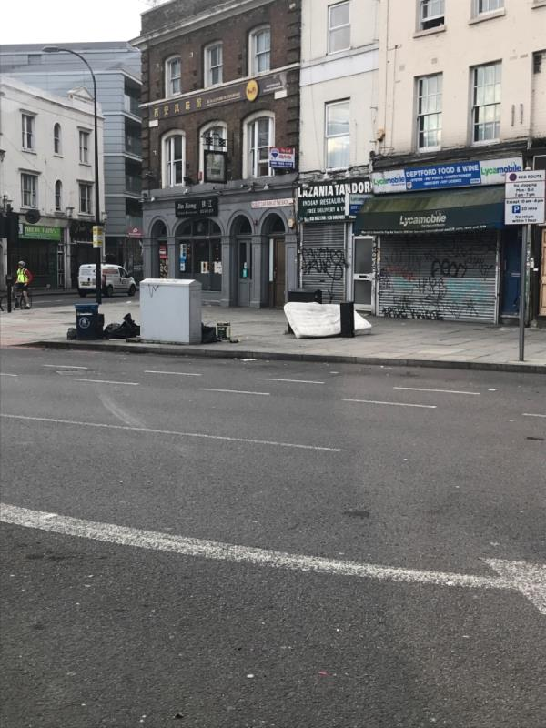 Bags Rubble -21 Deptford Broadway, London, SE8 4PA