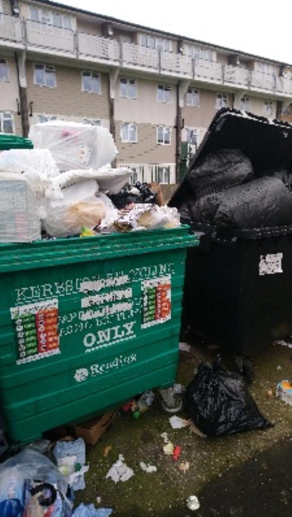 Excess and contaminated waste at 48-54 Bamburgh Close -8 Bamburgh Close, Reading, RG2 7UD