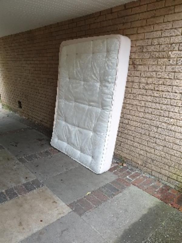 mattress beside 82 Aldwick-83 Aldwick Close, Farnborough, GU14 8LL