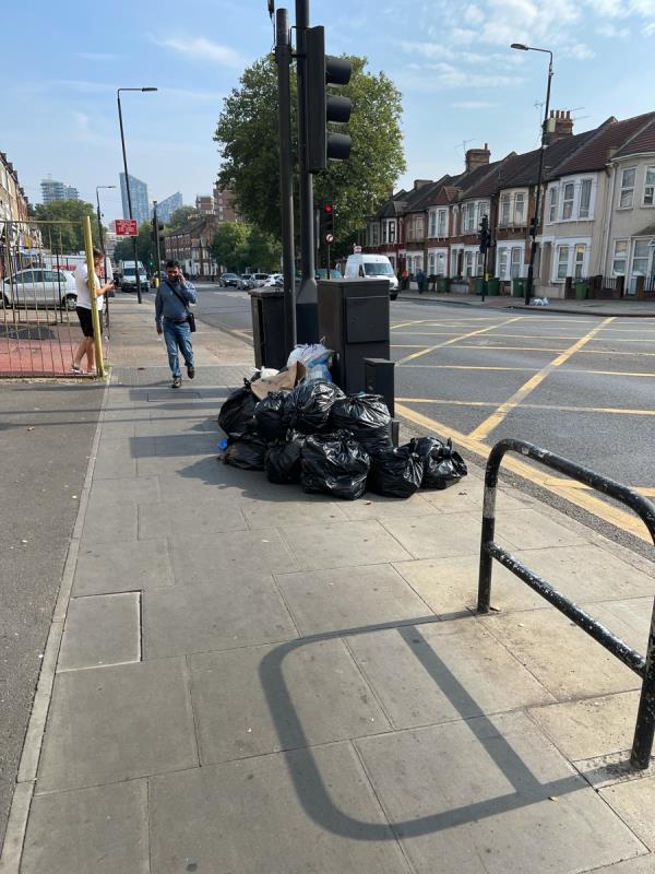Rubbish bags-933 Romford Rd, London E12 5PX, UK