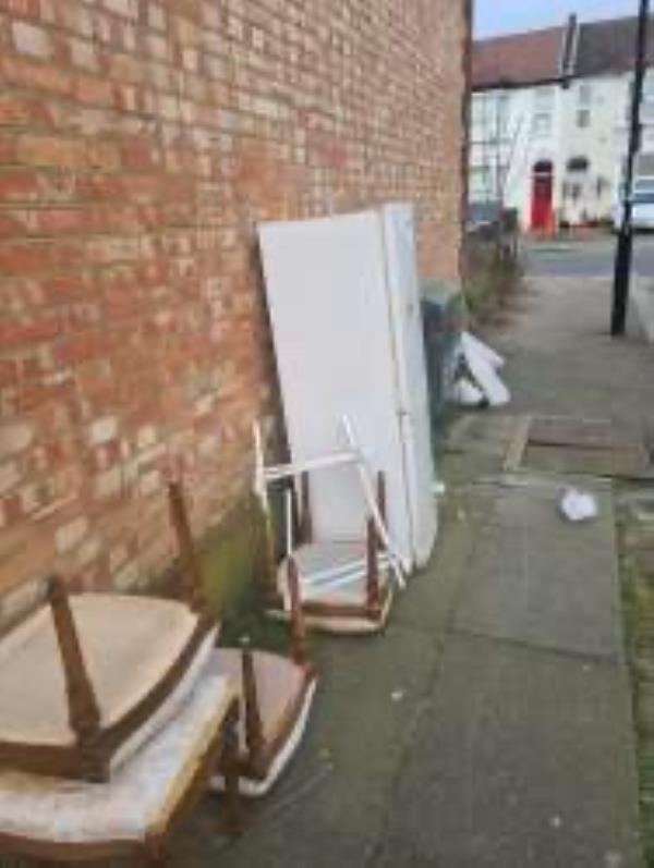 Please clear fridge and chairs-34 Sportsbank Street, London, SE6 2EX