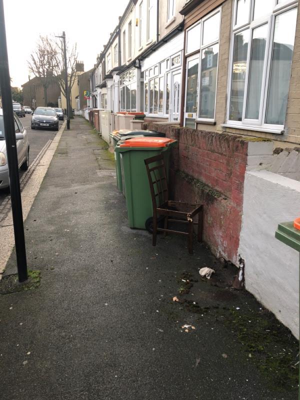 Chair-94 Warwick Road, London, E15 4LA