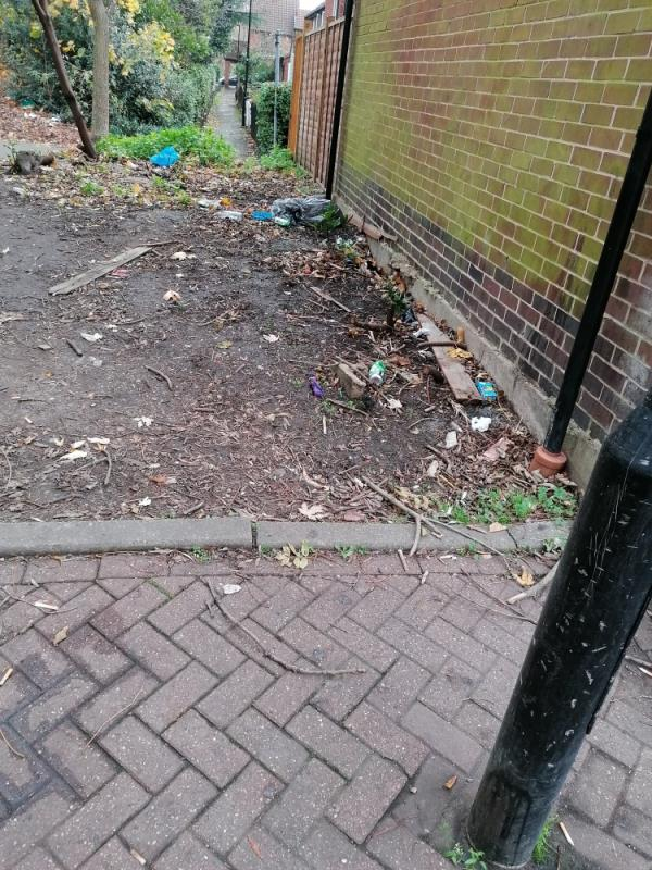 Some guys gather on the street every night, drink alcohol and leave a mess after themselves.  image 1-28 Leamouth Road, London, E6 5SJ