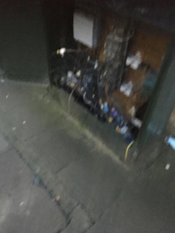 Bt box broken -131 Memorial Avenue, London, E15 3BS
