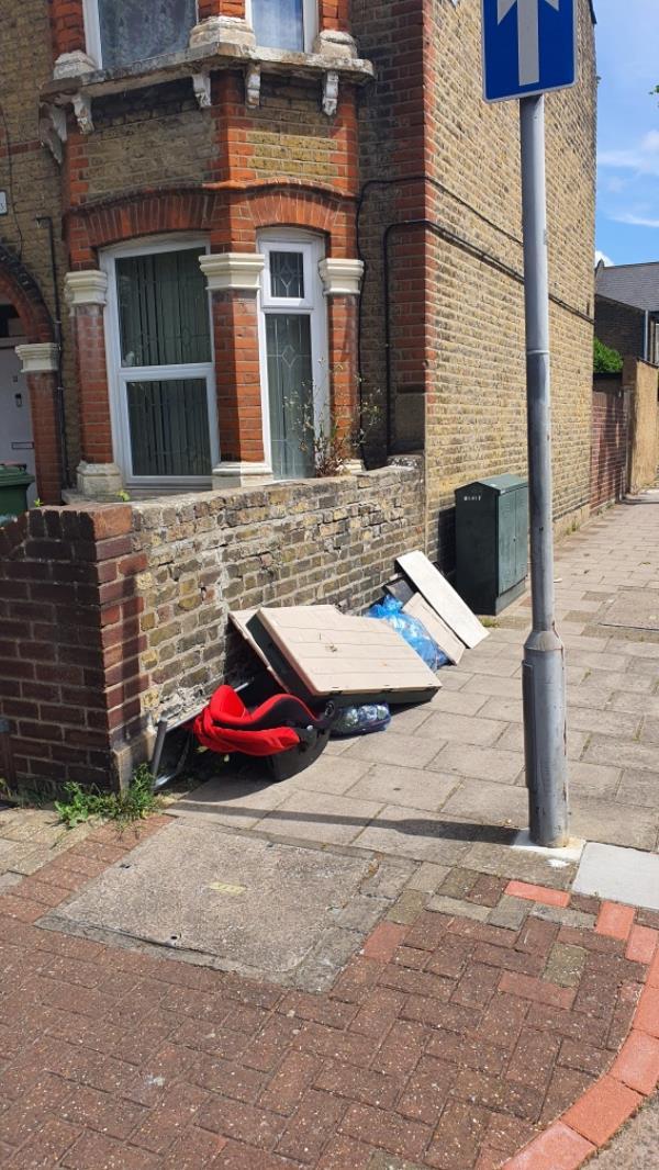 boards, household items -12 Bishops Avenue, London, E13 0QB
