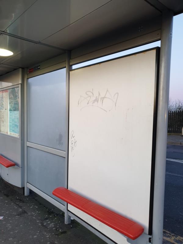 on bus stop-Maypole Court, 2 Merrick Road, London, UB2 4AU
