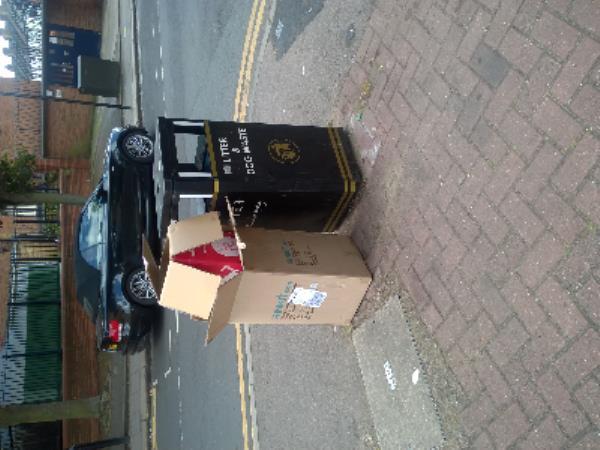 Swete St jw Kennedy Close E13 - cardboard bixes-68A High St, Plaistow, London E13 0AJ, UK