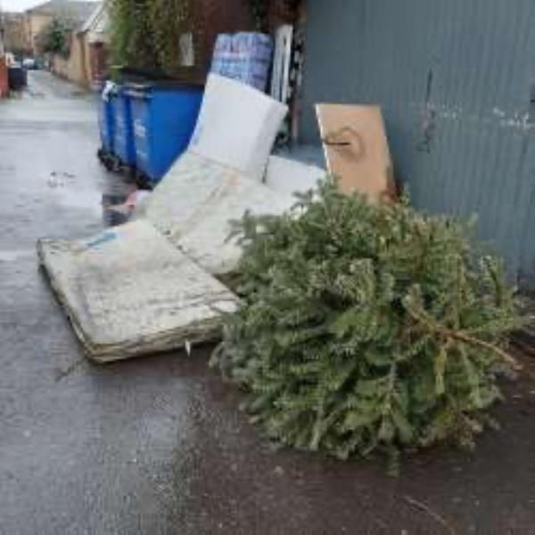 Earksthorpe Mews . Please remove 4 single mattress and 1 double mattress-40B Earlsthorpe Rd, London SE26 4PD, UK