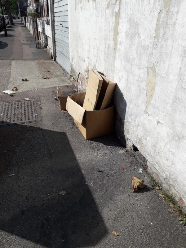cardboard-20 Poulett Road, London, E6 6EG