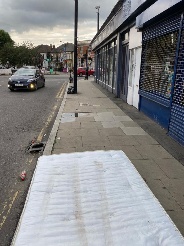 By the mattress shop -571 Green Street, London, E13 9BF