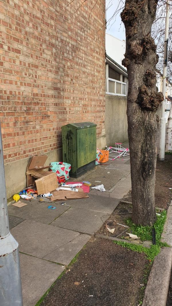 old box of toys -Unit a Oakdale Road, Upton Park, E7 8JU