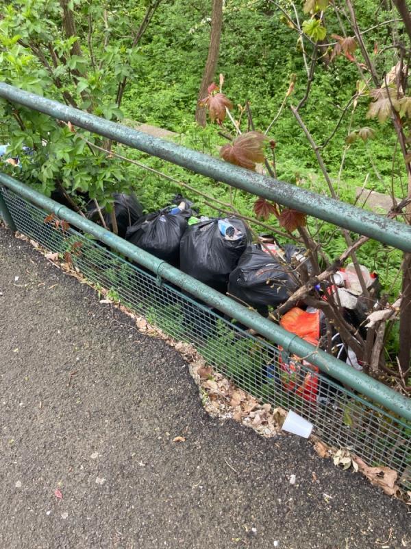 Bags of rotten food -110 Upper Rd, London E13 0EX, UK