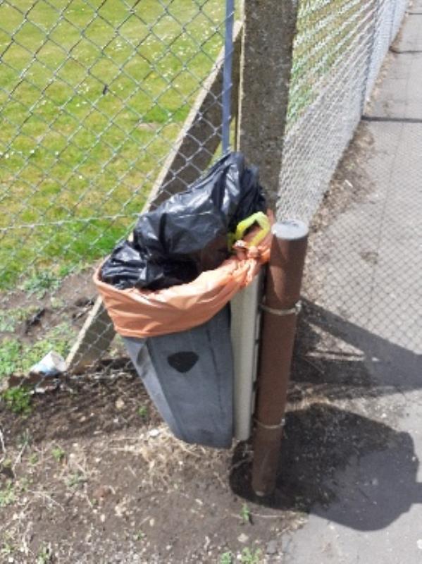 household waste in bin no evidence taken -99 Silchester Road, Reading, RG30 3EJ