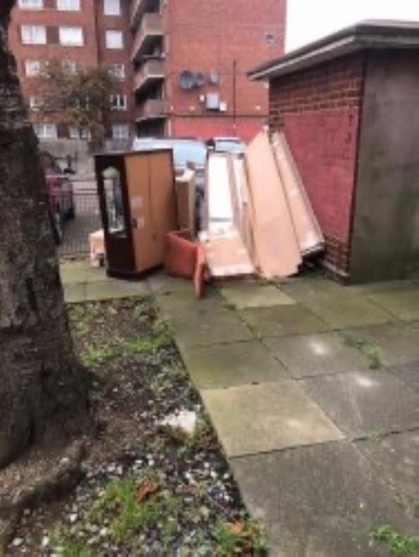 Please clear flytip-Maple House Idonia Street, London, SE8 4LS
