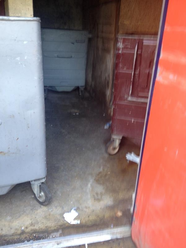 Wash down bin stores-34 Granville Road, Reading, RG30 3PZ