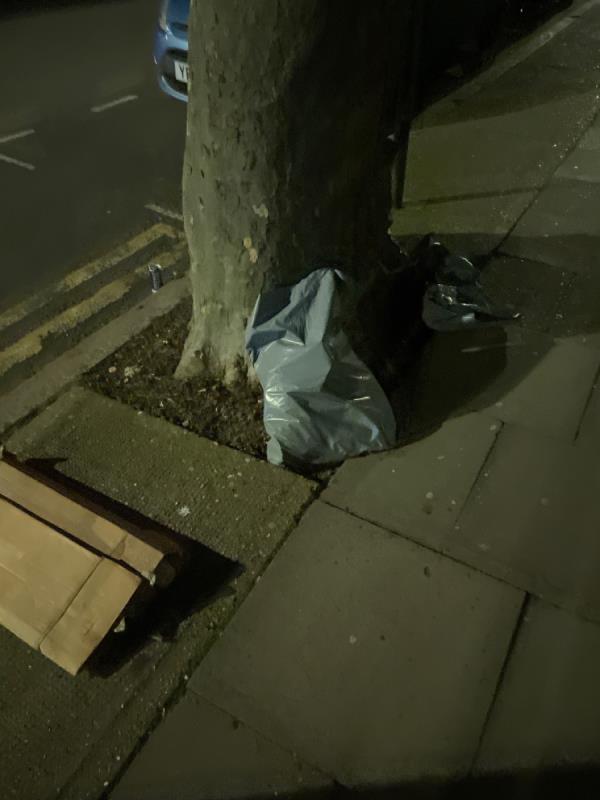 Rubbish -87 Wakefield Street, East Ham, E6 1NR