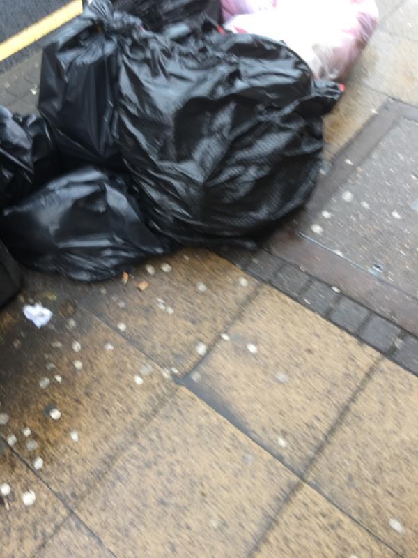 Rubbish dumped -21-25 Romford Road, London, E15 4LW