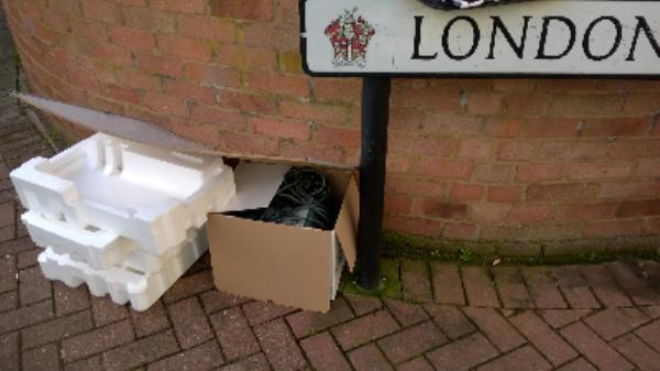 Chesterton Rd jw London Rd E13 - Polystyrene, white board, box consoles etc-115 London Road, London, E13 0DA
