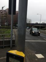 Tag on traffic light post  image 1-23 Forbury Road, Reading, RG1 3BD