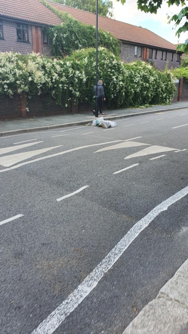 bags of earth-1 Newton Road, London, E15 1LR