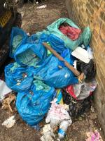 Fridge freezer and garden waste - soil, rubble  image 1-The Granary Comet Place, London, SE8 4AA
