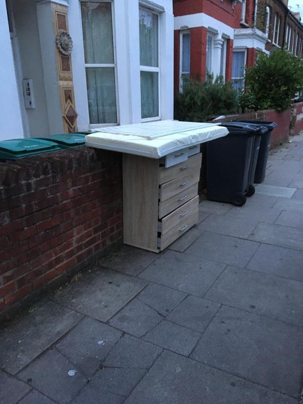 Outside 46 waldegrave rd n8-2 Coleraine Road, London, N8 0QA