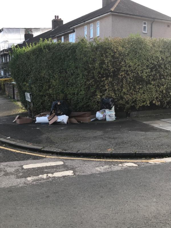 Remove all fly tipping -19 Overdown Road, Bellingham, SE6 3ER