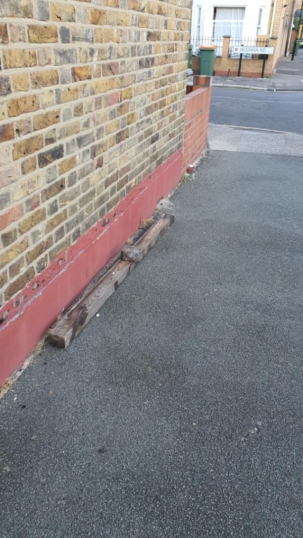 wood and brick-1 Newton Road, London, E15 1LS