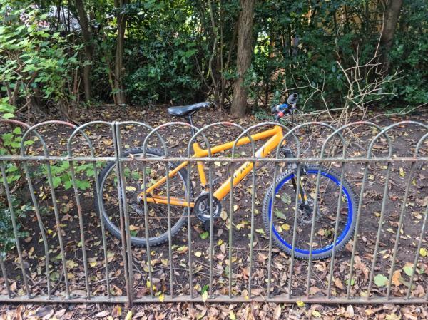 Abandoned bicycle-218 Meadowview Road, Bellingham, SE6 3NH