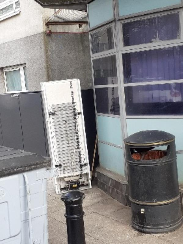 bulky item bin stores -Riversley Court, 205 Wensley Road, Reading, RG1 6ED