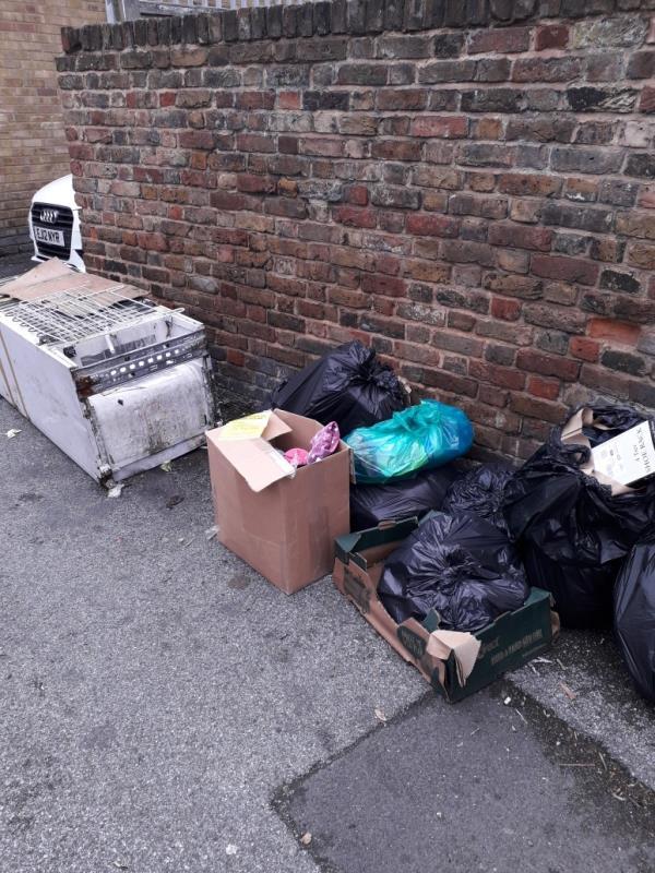 bags and fridge freezer-2 Cave Road, Plaistow, E13 9DX