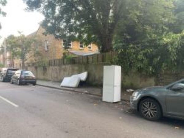 Please clear a fridge. Reported via Fix My Street-Garsington mews