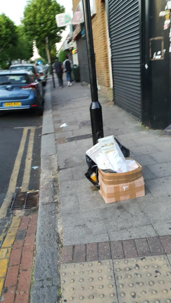 box, bag-133 Green Street, London, E7 8JF