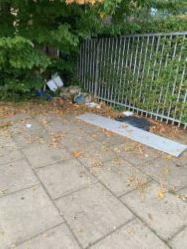 By School. Please clear A Large Piece Of wood-64 Launcelot Road, Bromley, BR1 5DZ