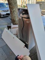 dumped items-72a Upton Lane, London, E7 9LN