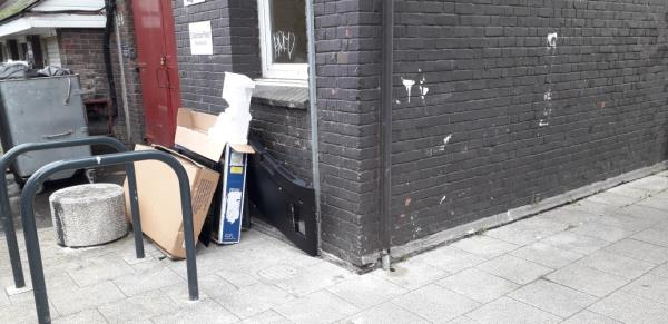 argosy house  tv , boxes etc. -1 Carteret Way, London, SE8 3QB