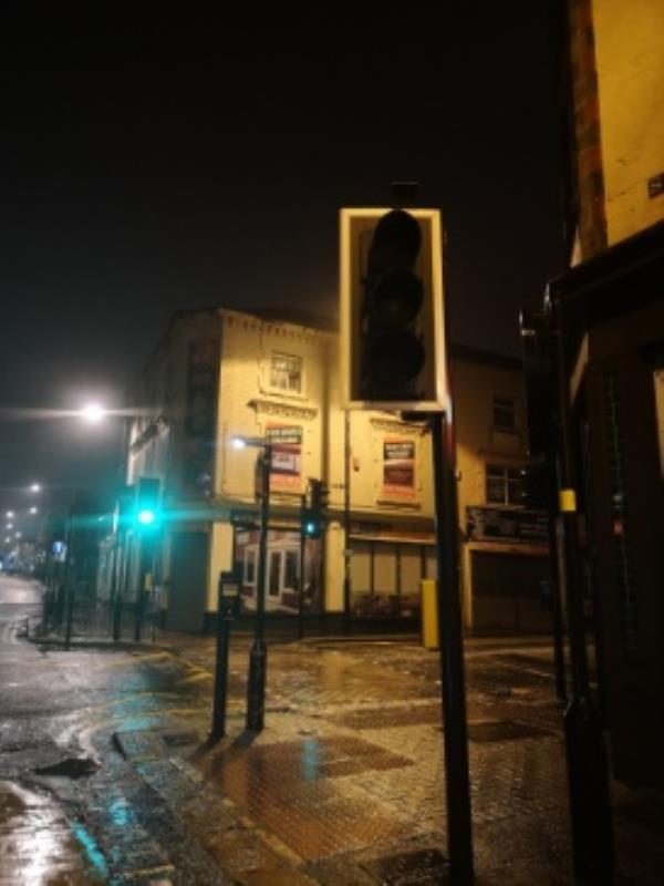 Green light not working-4 Salop Street, Wolverhampton, WV3 0RX