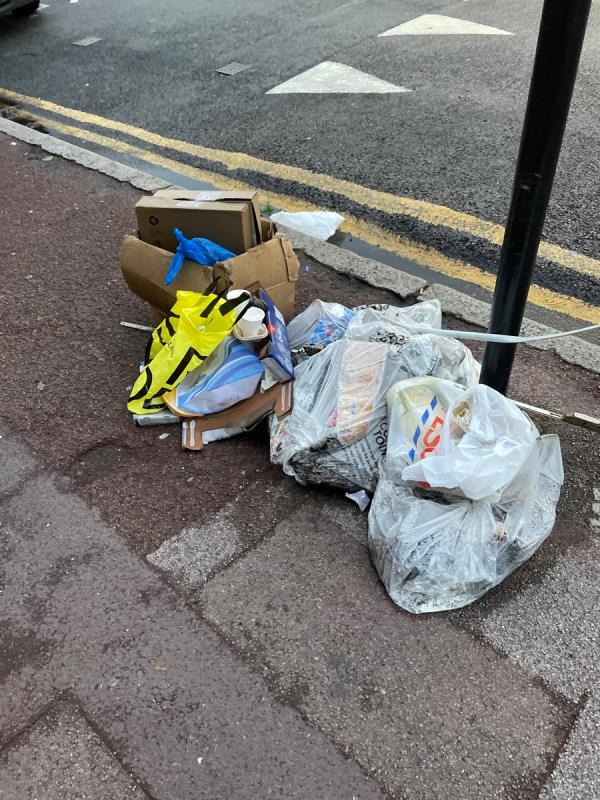 Rubbish -Nirala Sweets London, 316 High St N, London E12 6SA, UK