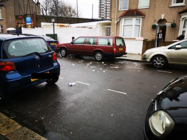 Hi, Today in the morning of 27/02/2020 the people who collected the garbage just spill it all around the street. And this is not the first time that this happened. Also I've never seen someone to sweep the street. We do this for our self's. I don't mind but still.-48 London Road, London, E13 0DE