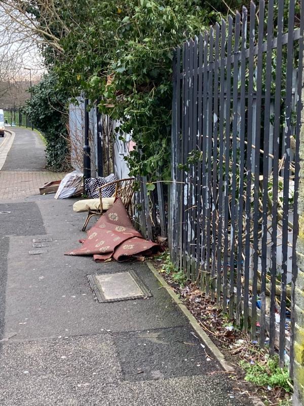 Dumped firniture-1e Grangewood Street, London, E6 1QX