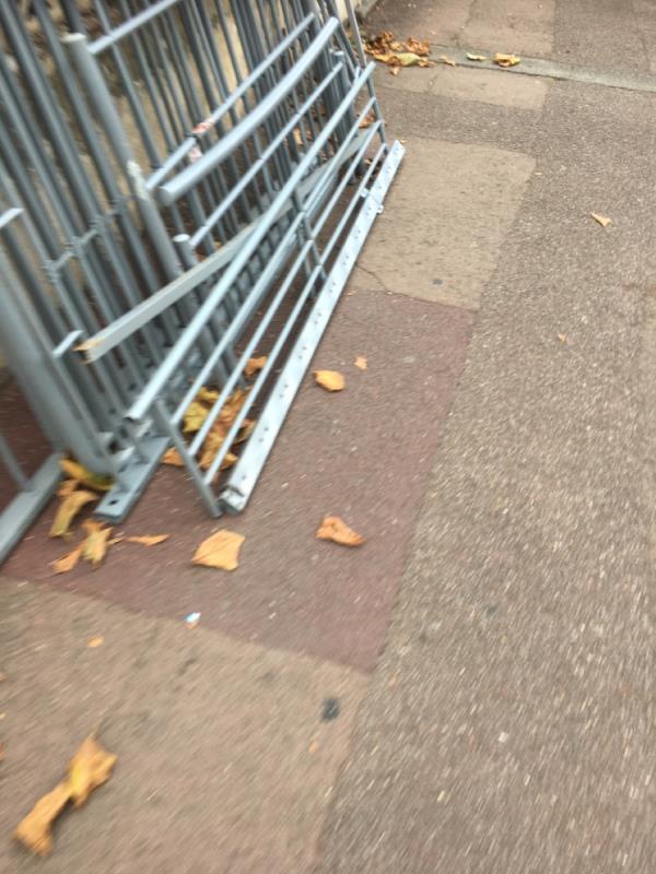 Rubbish dumped outside house  image 1-27 Ashley Road, Upton Park, E7 8PE