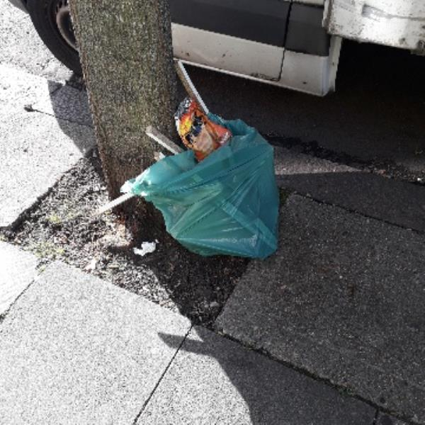 1 bag of wood-33 Salisbury Road, London, E12 6AA