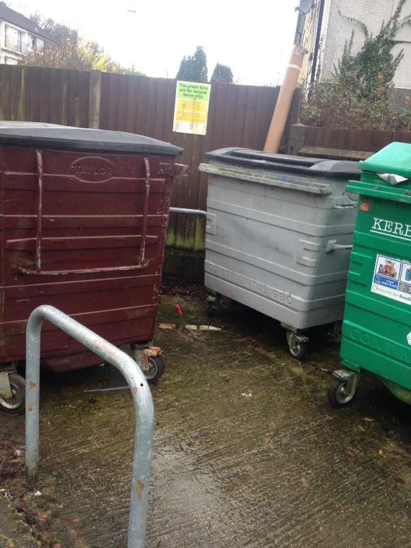 Wash down bin stores-81 Severn Way, Reading, RG30 4HN