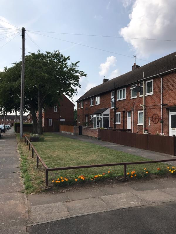 The residents take pride in their little bit of green and are a credit to the New Parks estate.-20 Biddle Road, Leicester, LE3 9HG