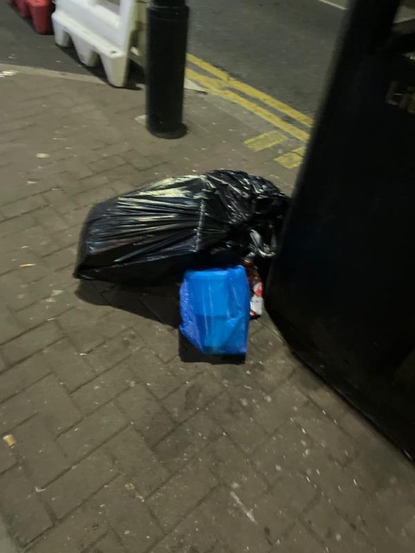Rubbish dumped  image 1-368c HIGH STREET NORTH, Manor Park, E12 6PH