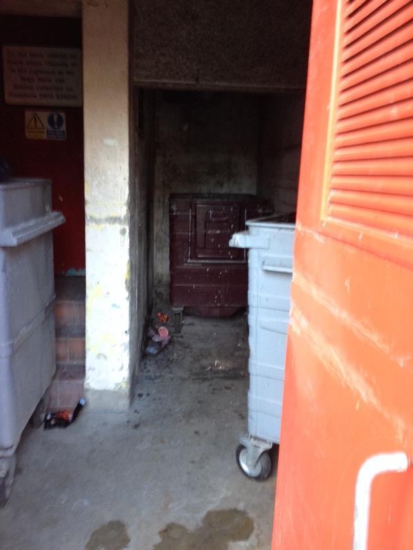 Wash down bin stores-32 Granville Road, Reading, RG30 3PY