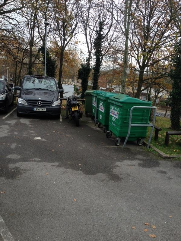 Wash down bin stores-Riversley Court, 205 Wensley Road, Reading, RG1 6ED
